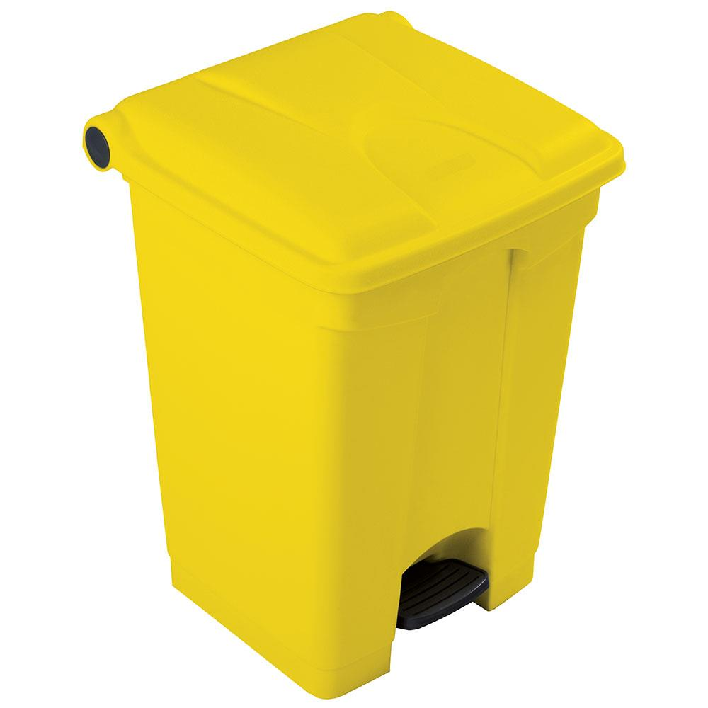 Clinical Waste Pedal Bins 45 Litres Yellow