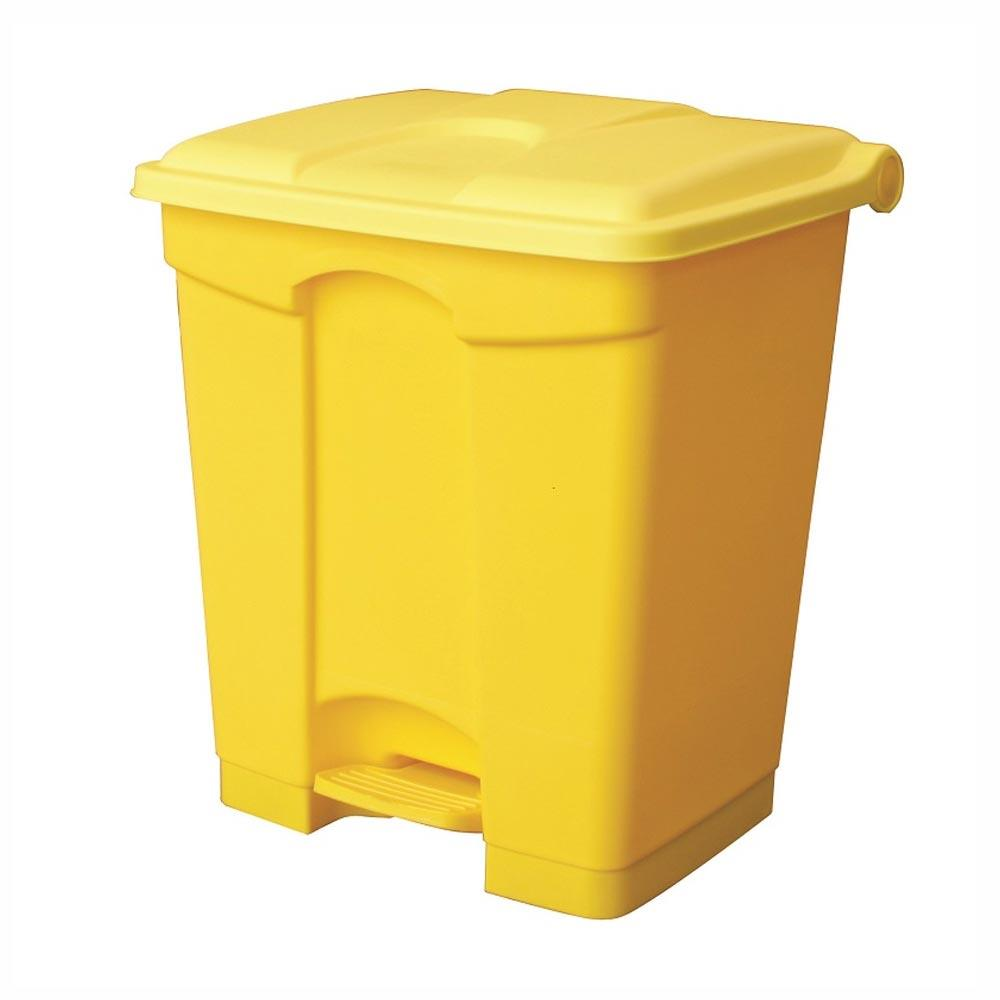 Clinical Waste Pedal Bins 30 Litres Yellow