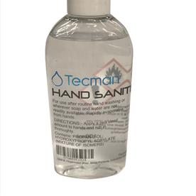 Tecman 70% Alcohol Hand Sanitiser 50ml x1