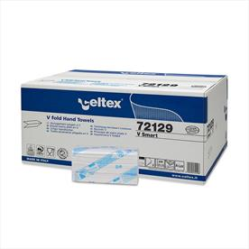 Celtex Smart V Fold Hand Towels - 200 x 15 Sleeves