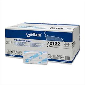 Celtex V Cell V Fold Hand Towels - 220 x 15 Sleeves