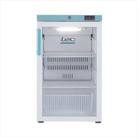 Lec PEGR107UK 107L Pharmacy Refrigerator - Glass Door
