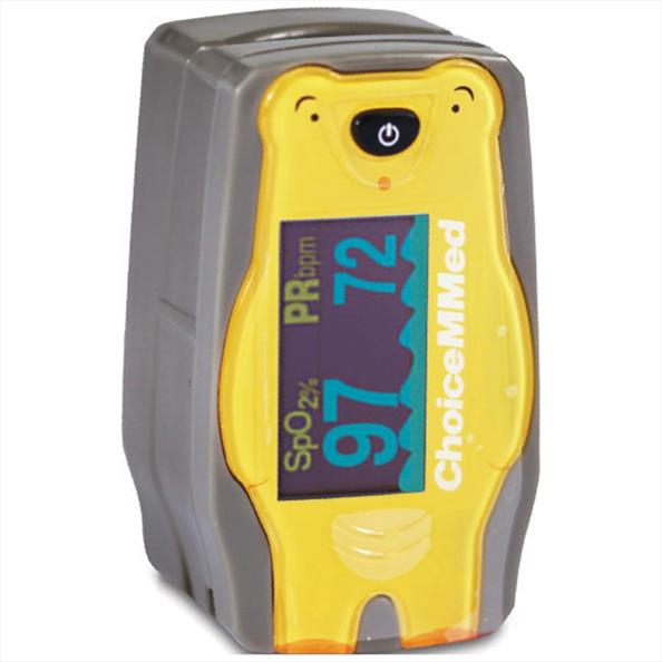 ChoiceMMed Paediatric Pulse Oximeter and Case