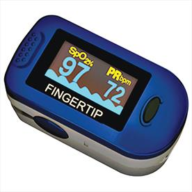 ChoiceMMed Finger Pulse Oximeter with Carry Case