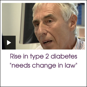 "Rise in type 2 diabetes ""needs change in law"""