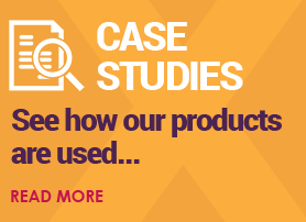 Case Studies - see how our products are used...