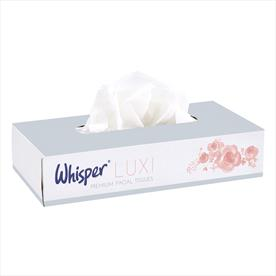 Facial Tissues Luxury 2ply White - 100 sheets x 36 boxes