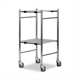 Dressing Trolley 470 x 470 x 890 Stainless Steel