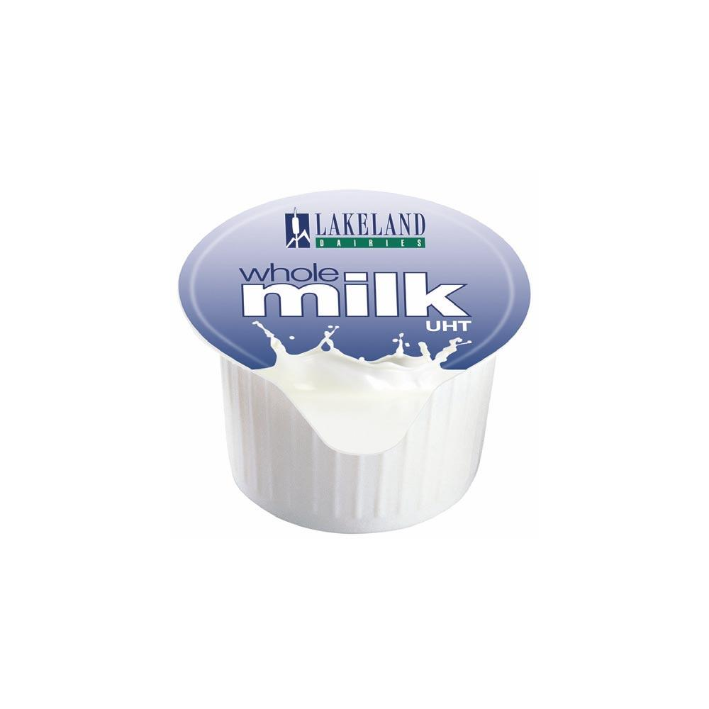 Millac Maid Milk Pots Pack of 120 Full Fat