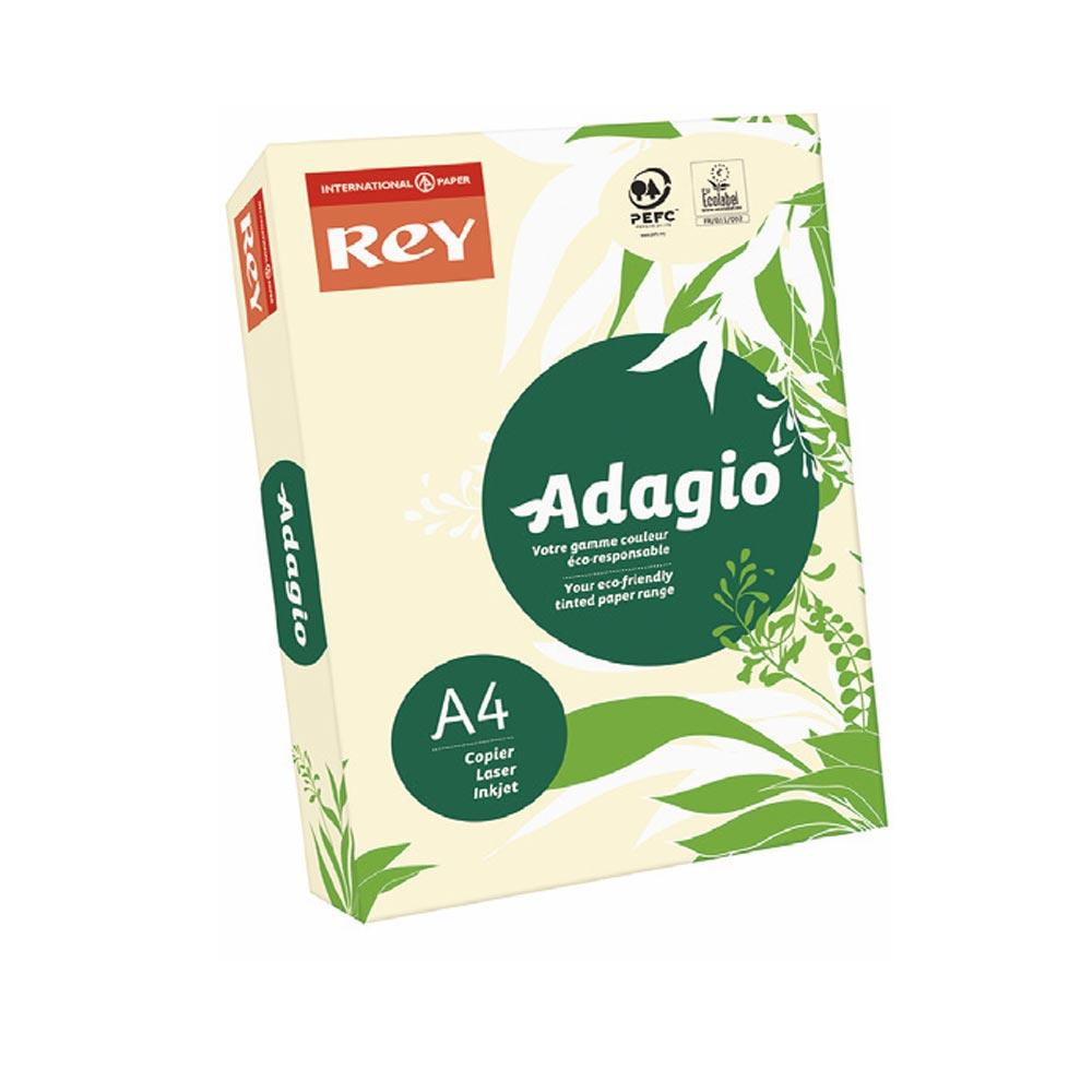 Adagio A4 Coloured Card 160gsm - 250 sheets Ivory