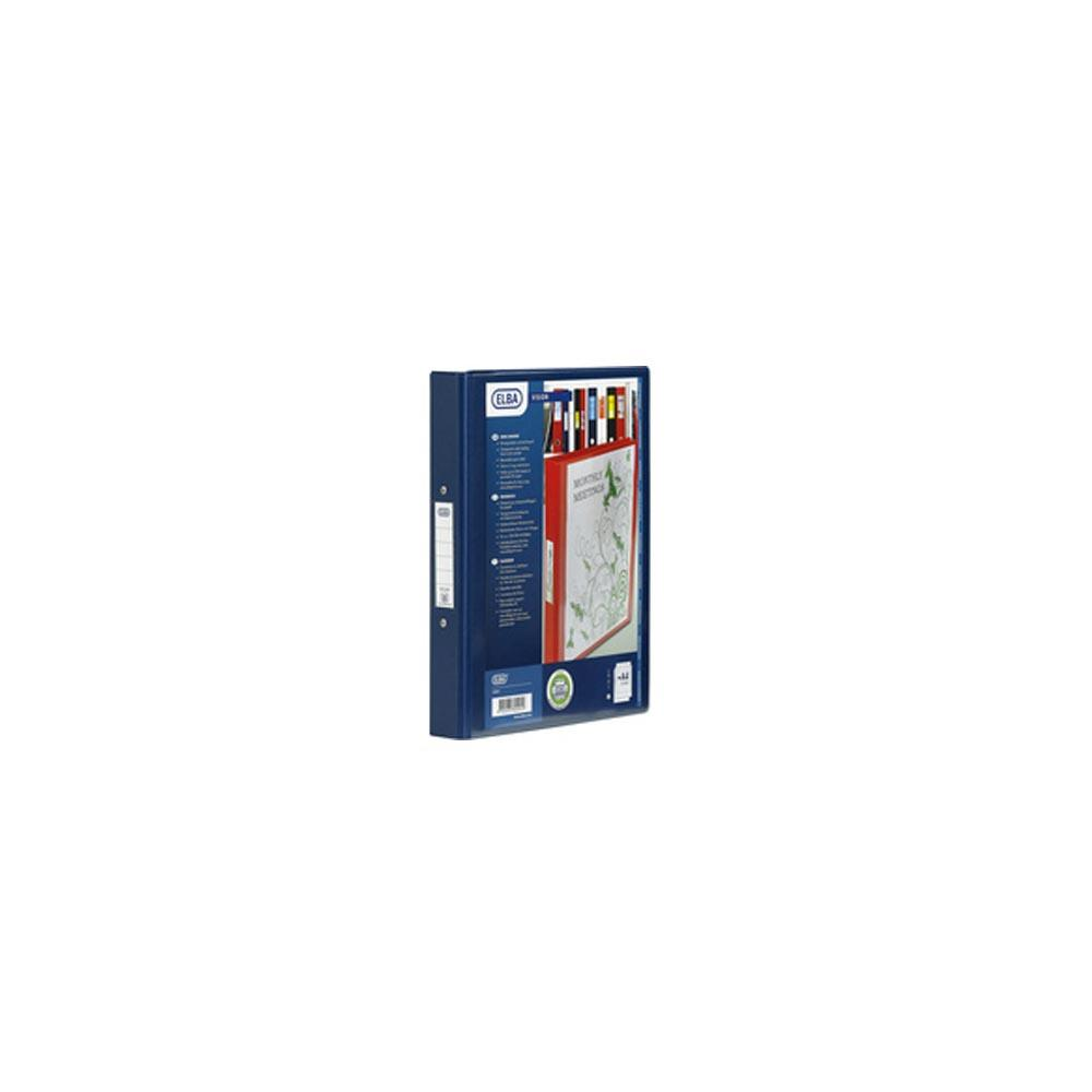 Bantex 4 Ring Binder PVC A4 Blue