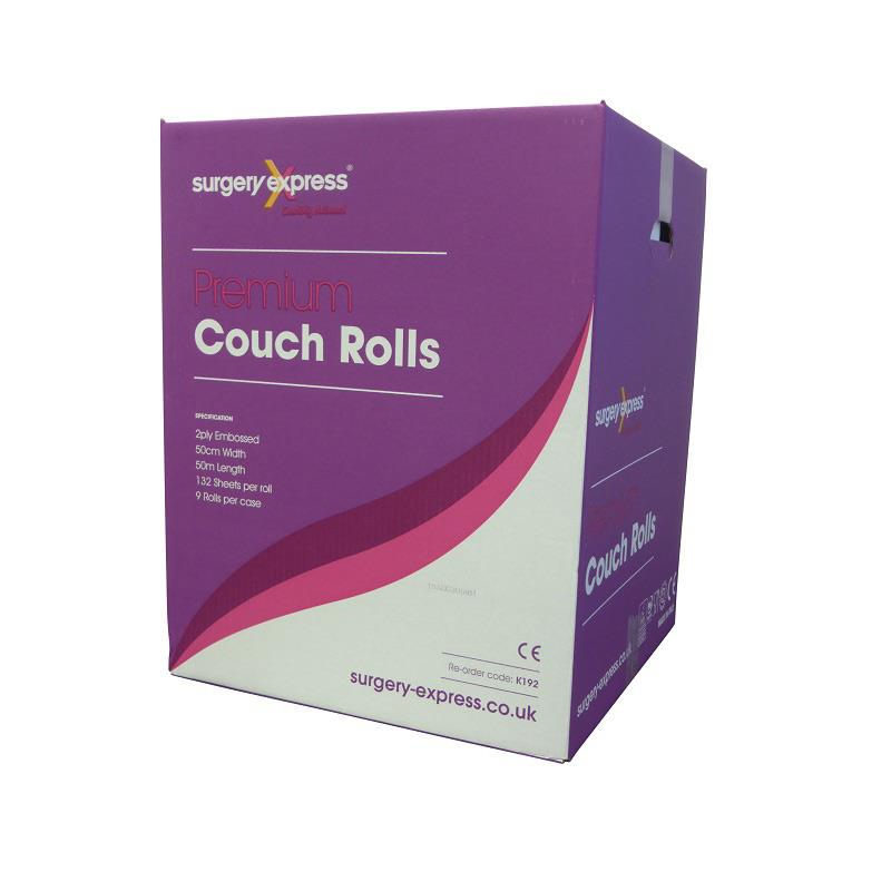 Premium Couch Roll - 2ply White