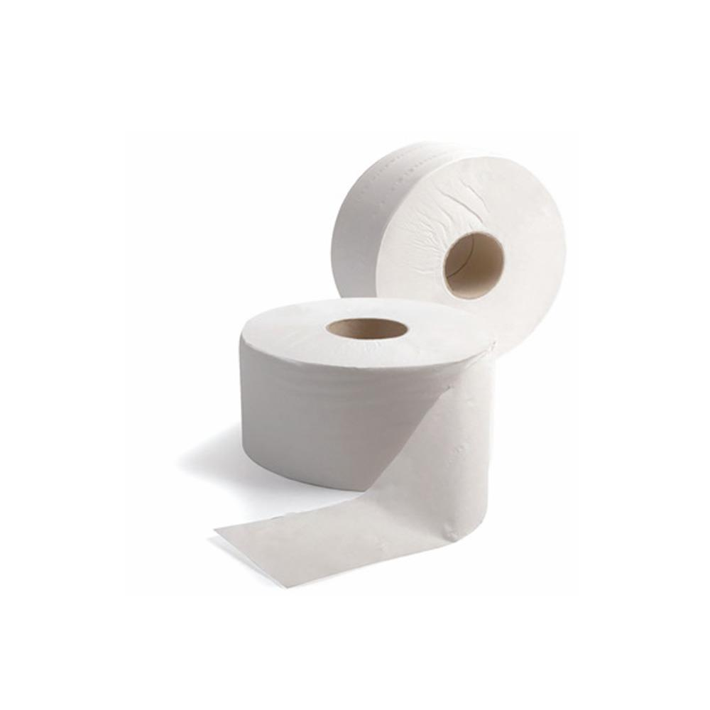 Jumbo Toilet Roll 2&quot Core x 6 rolls