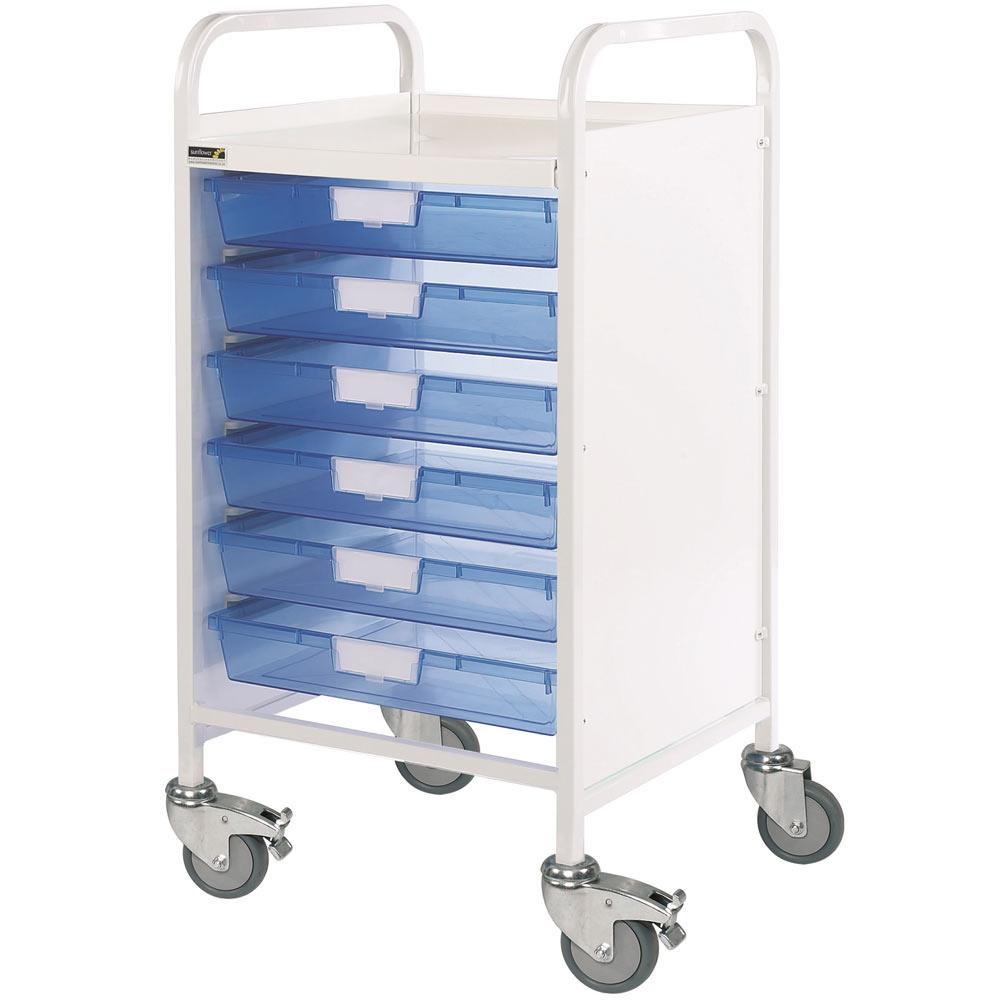 Vista 50 Treatment Trolleys 6 Trays
