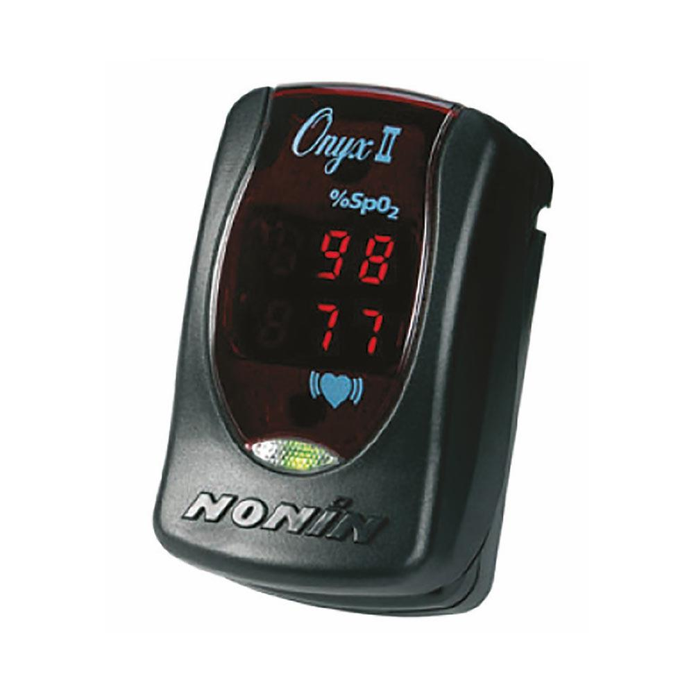 Nonin 9550 Onyx II Pulse Oximeters With Slip-in Carry Case