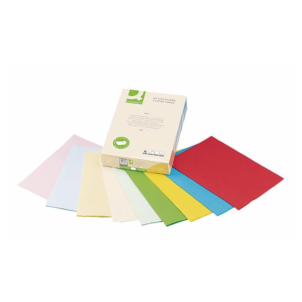 Q-Connect Colour Copier Paper A4 Cream