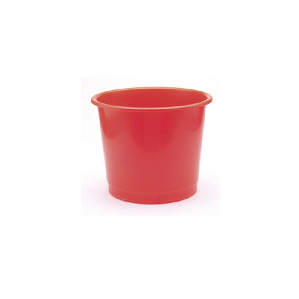 Q Connect Waste Bin 15 Litre Red