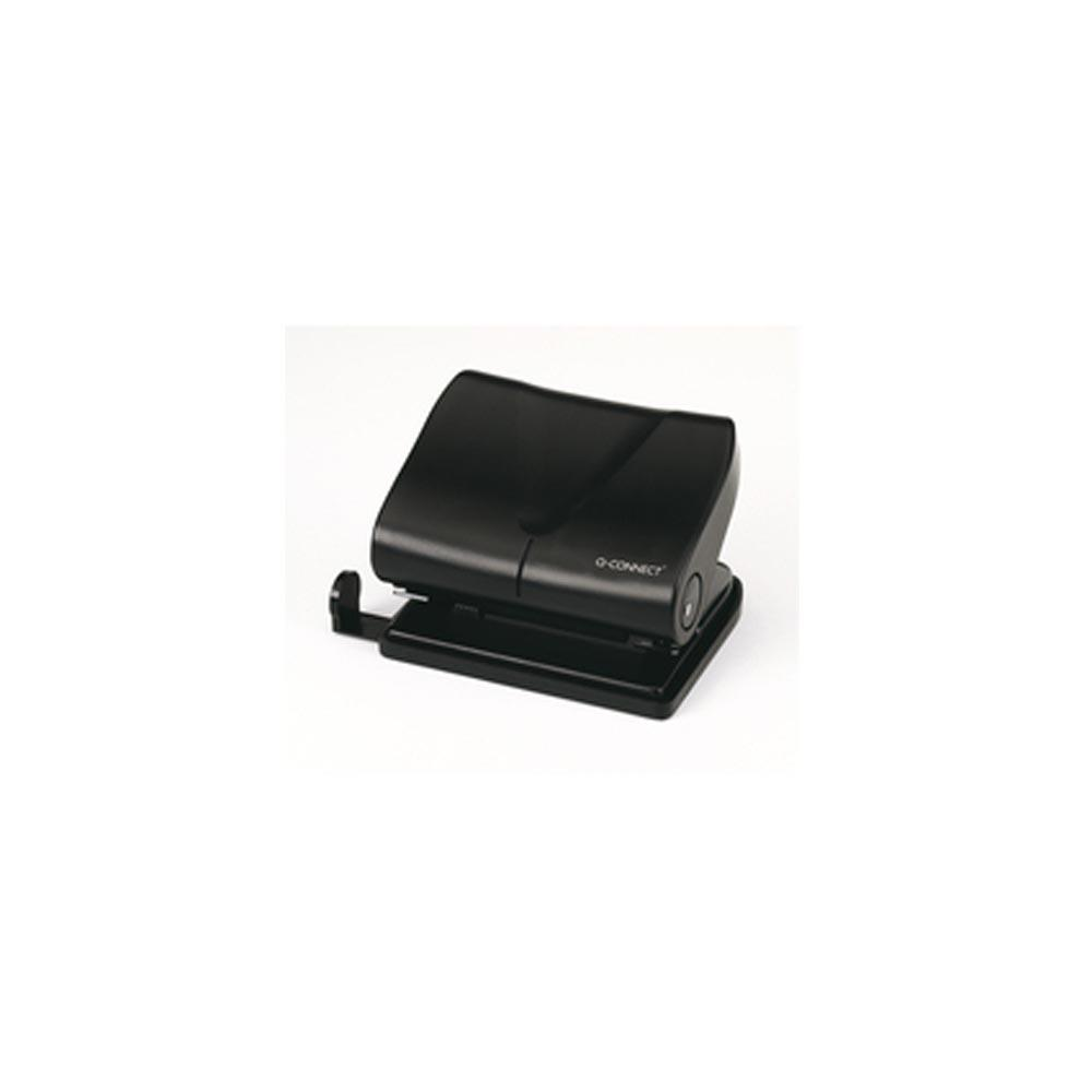Q Connect Hole Punch Medium Duty Black