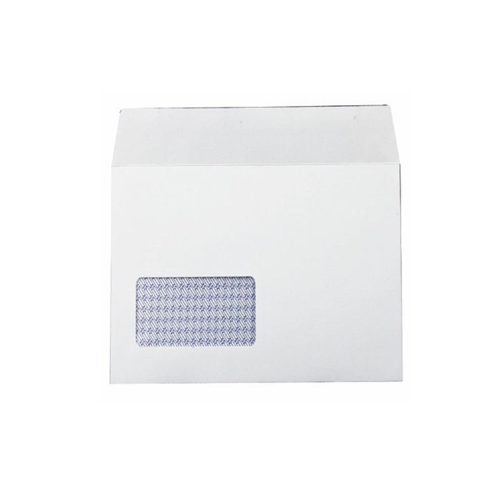 """Q-Connect Self Seal Envelopes DL 80gsm - White - No window - Pack of 1,000"""