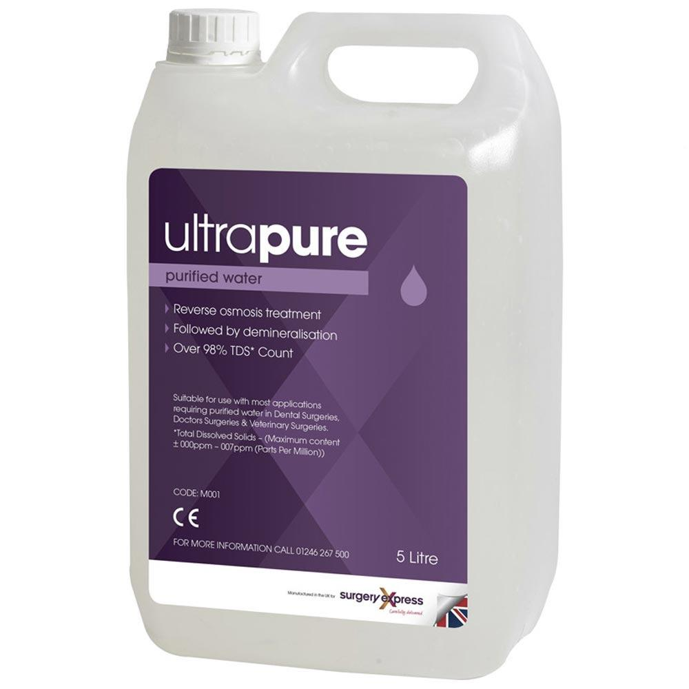 UltraPure Purified Water - 4X5 Litres
