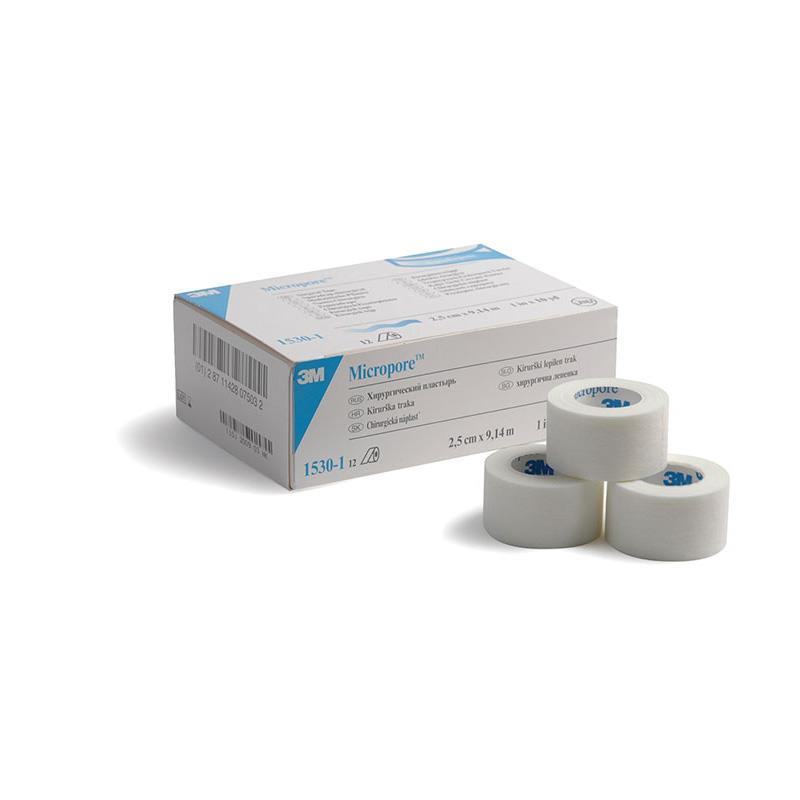 Micropore Tape 1 25cm X 24 Rolls Surgery Express
