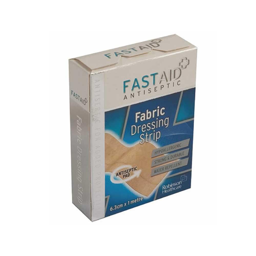Fastaid Fabric Dressing Strip Waterproof 2.5cm x 5m