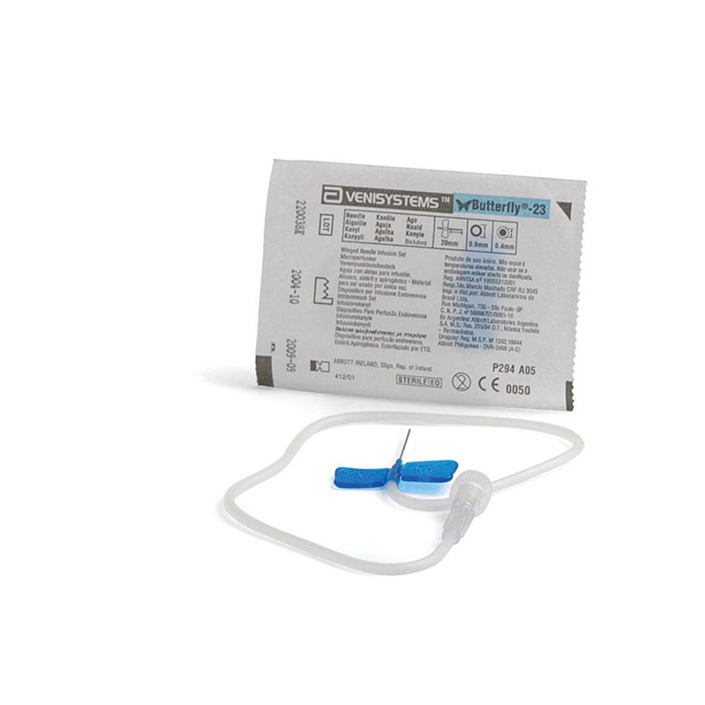 Butterfly Needles - Winged Infusion Set 23g - Blue
