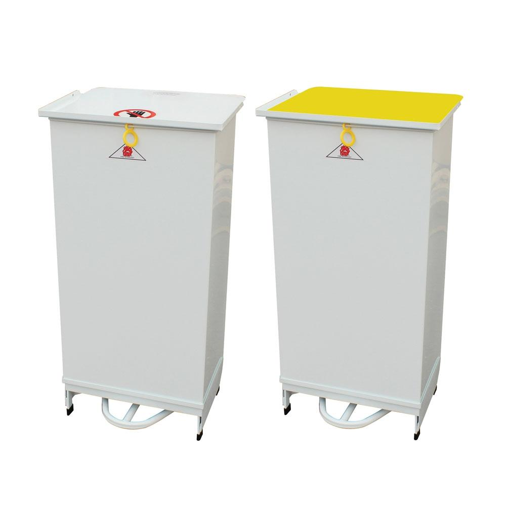 Closed Sack Holders (80Ltr) - White White