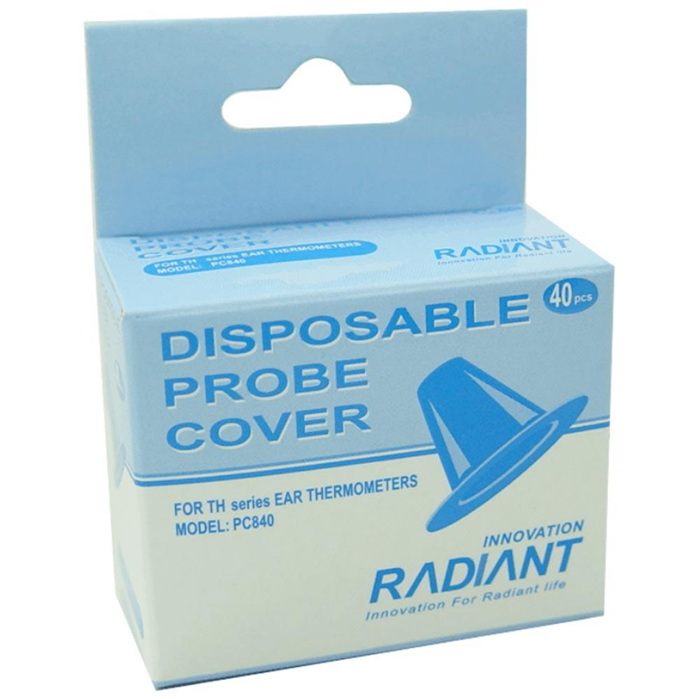 Radiant Thermometer Probe Covers x 40