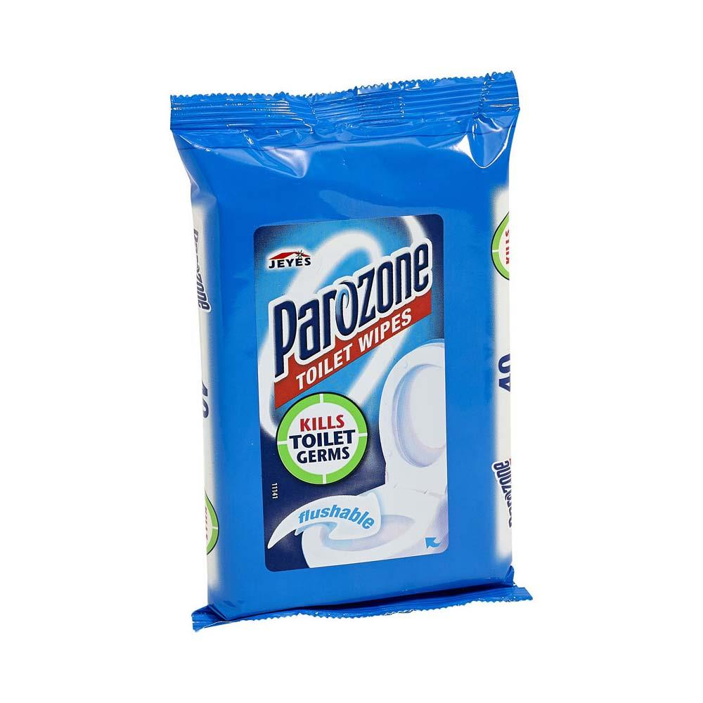 Parazone Toilet Wipes x 8 Packs
