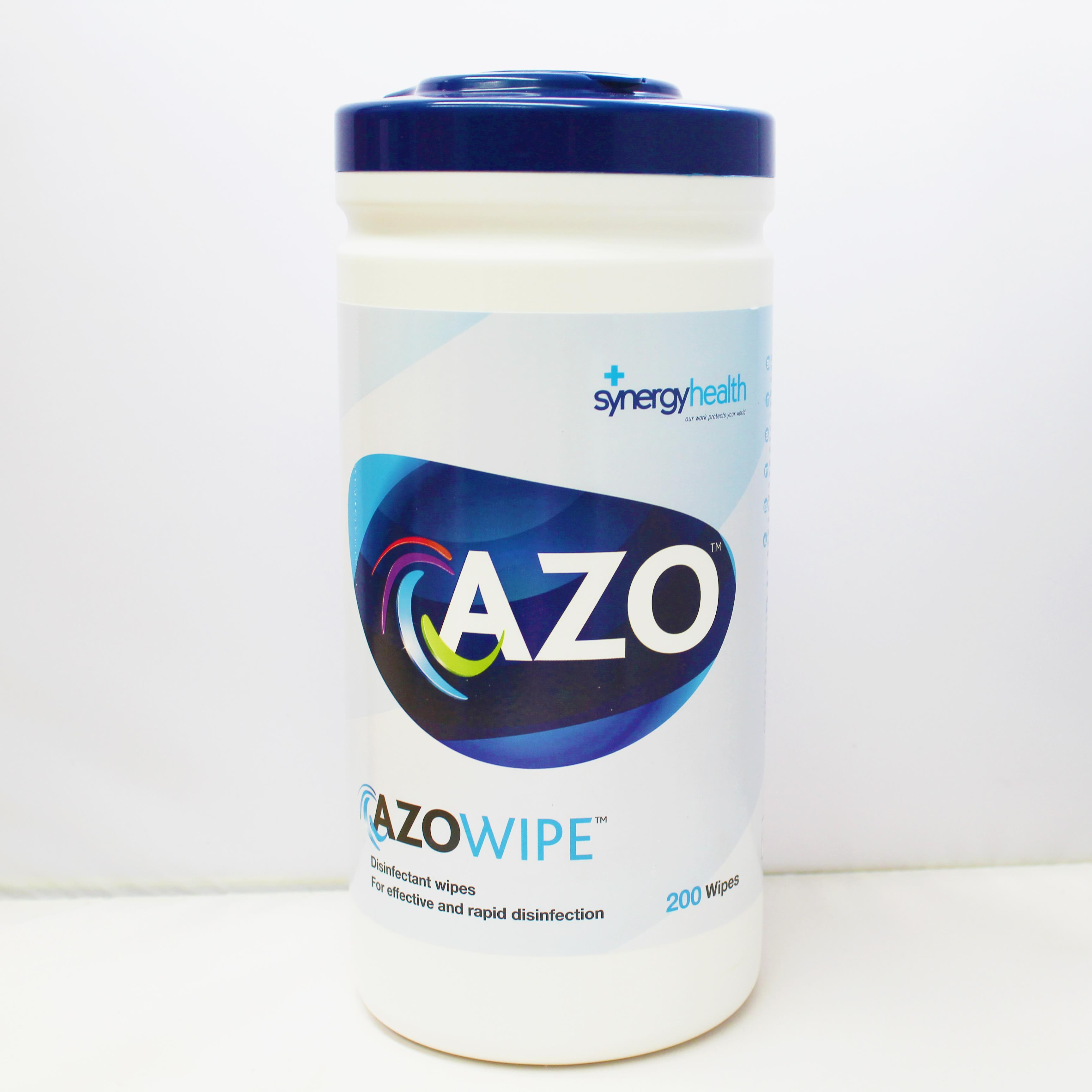 Azowipes Disinfectant Wipes x 200