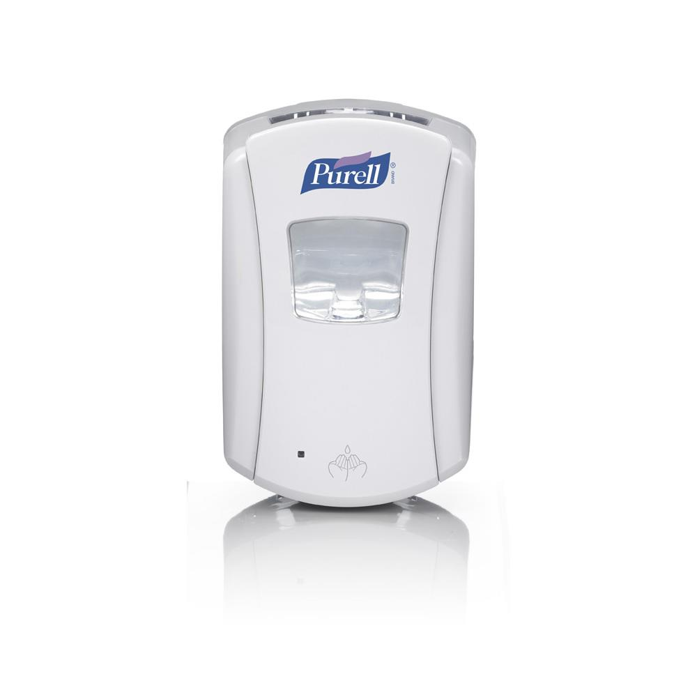 GOJO Purell Hand Gel in Dispensers 700ml Touch Free Dispenser - Grey/White x 700ml