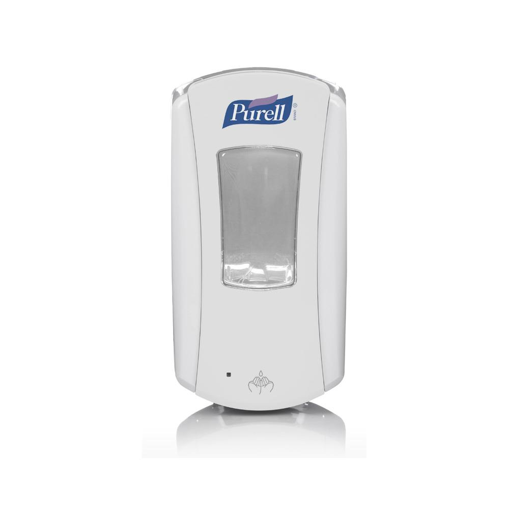 GOJO Purell Hand Gel in Dispensers 1200ml Touch Free Dispenser - White/White x 1200ml