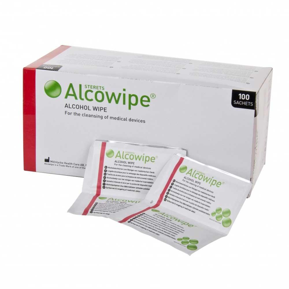 Alcowipe for Medical Equipment x 100
