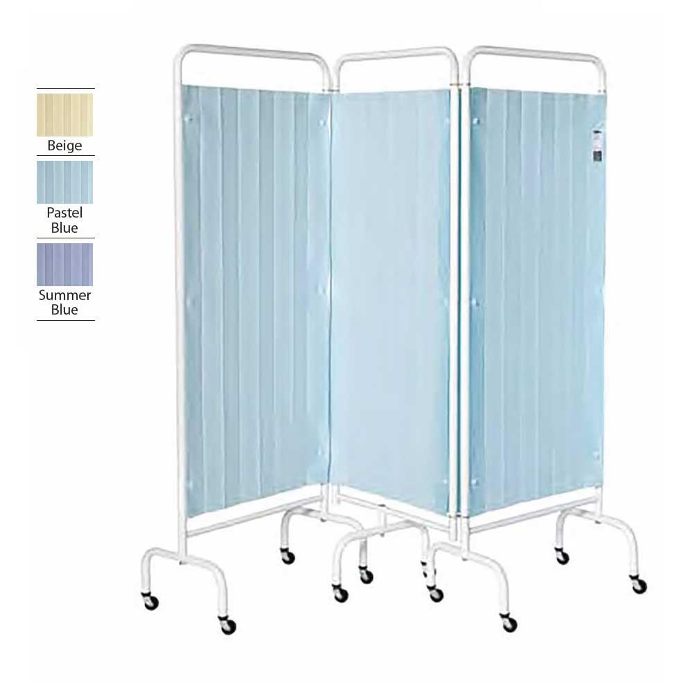 3 Panel Replacement Disposable Curtains Summer Blue