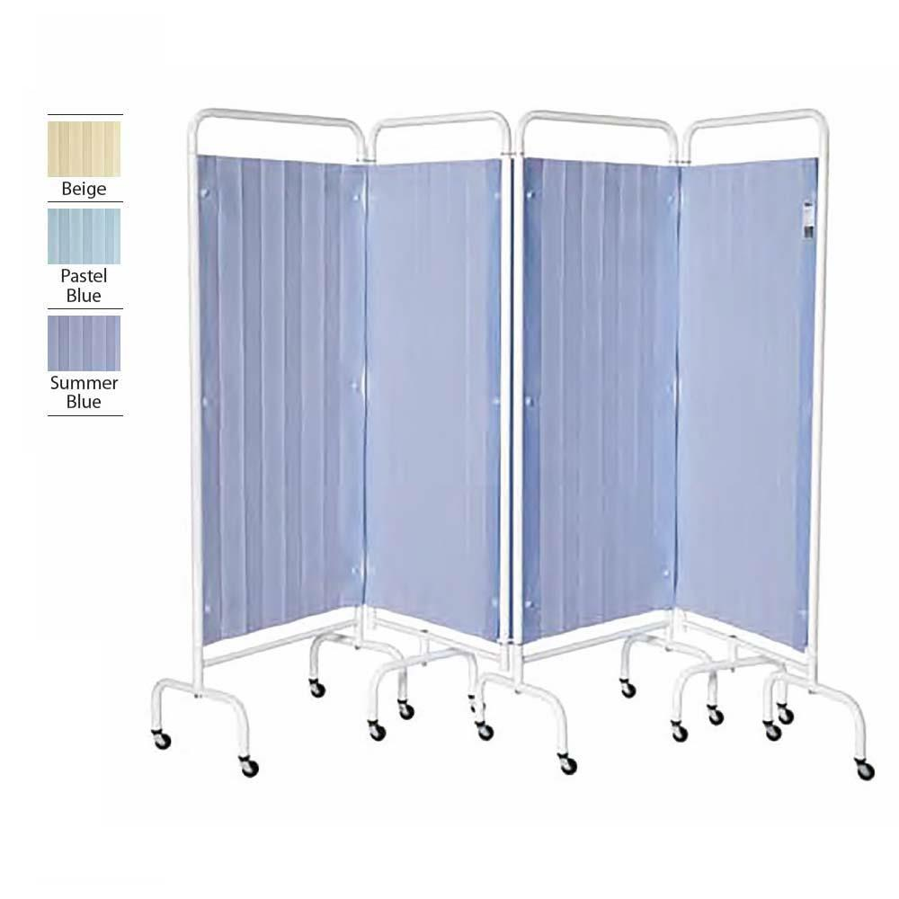 4 Panel Replacement Disposable Curtains Pastel Blue