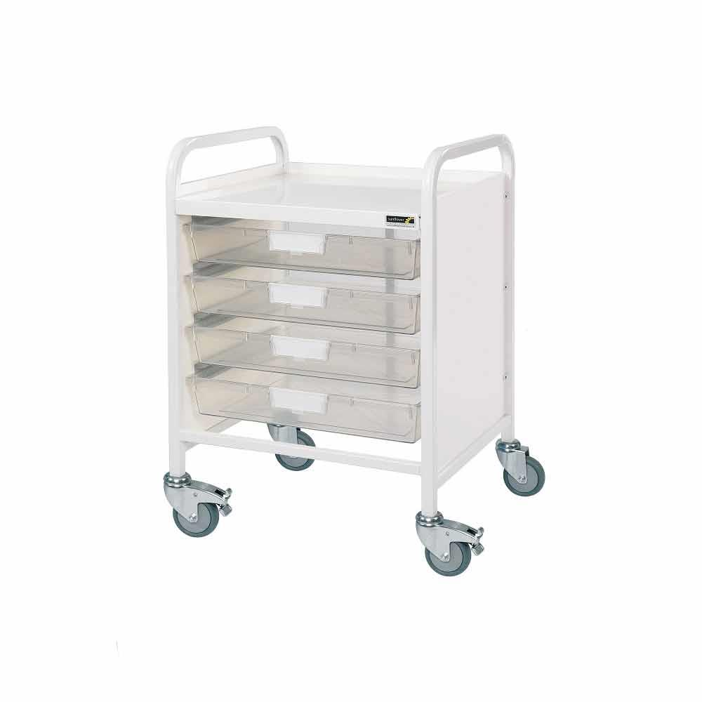 Vista 20 Trolleys 2 Trays - Blue
