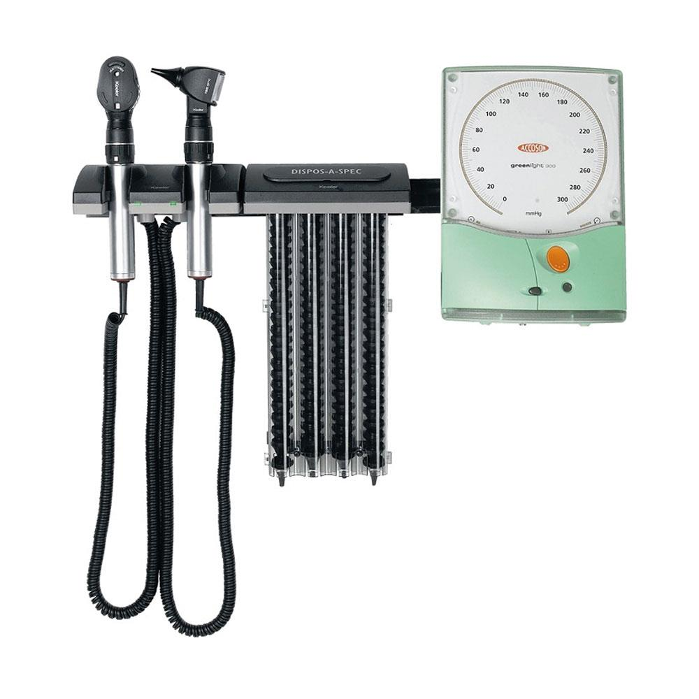 Keeler Wall Set to go with Greenlight 300 Sphygmomanometer (not included)