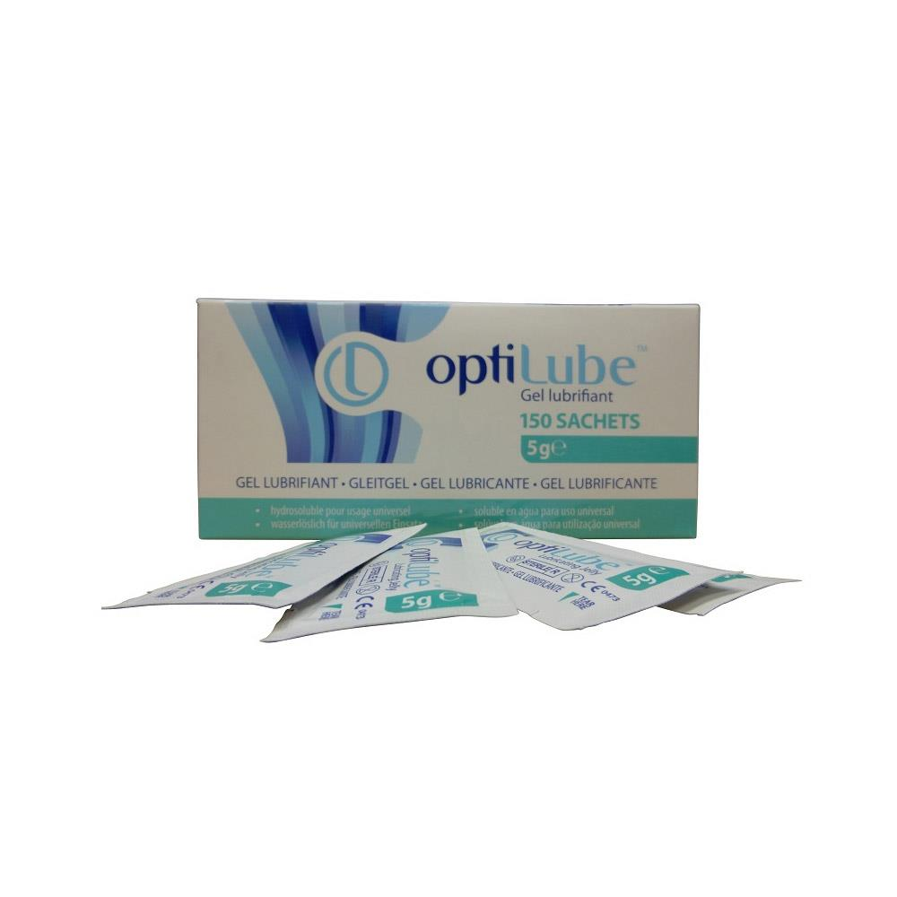 Optilube Lubricating Jelly 5g Sachets x 150