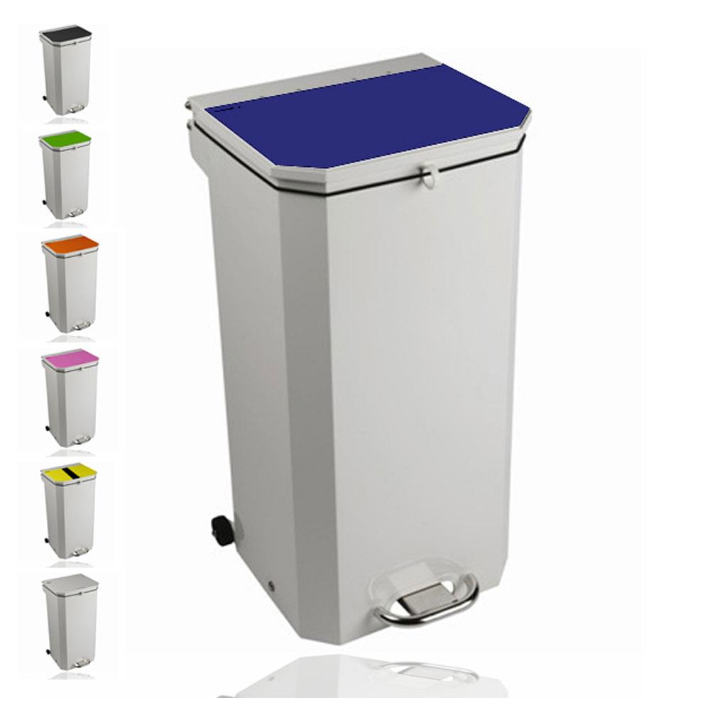 Sunflower 20 Litre Clinical Waste Bins White Lid (Amalgam Waste)