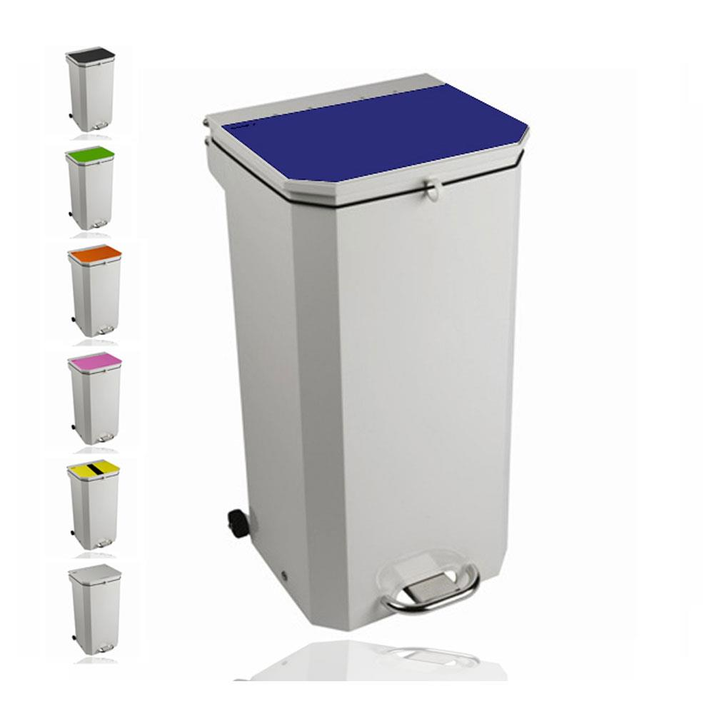 Sunflower 50 Litre Clinical Waste Bins White Lid (Amalgam Waste)