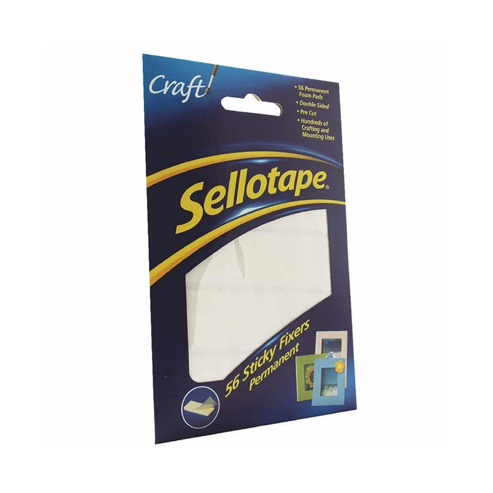 Sellotape Sticky Fixer 12mm x 25mm