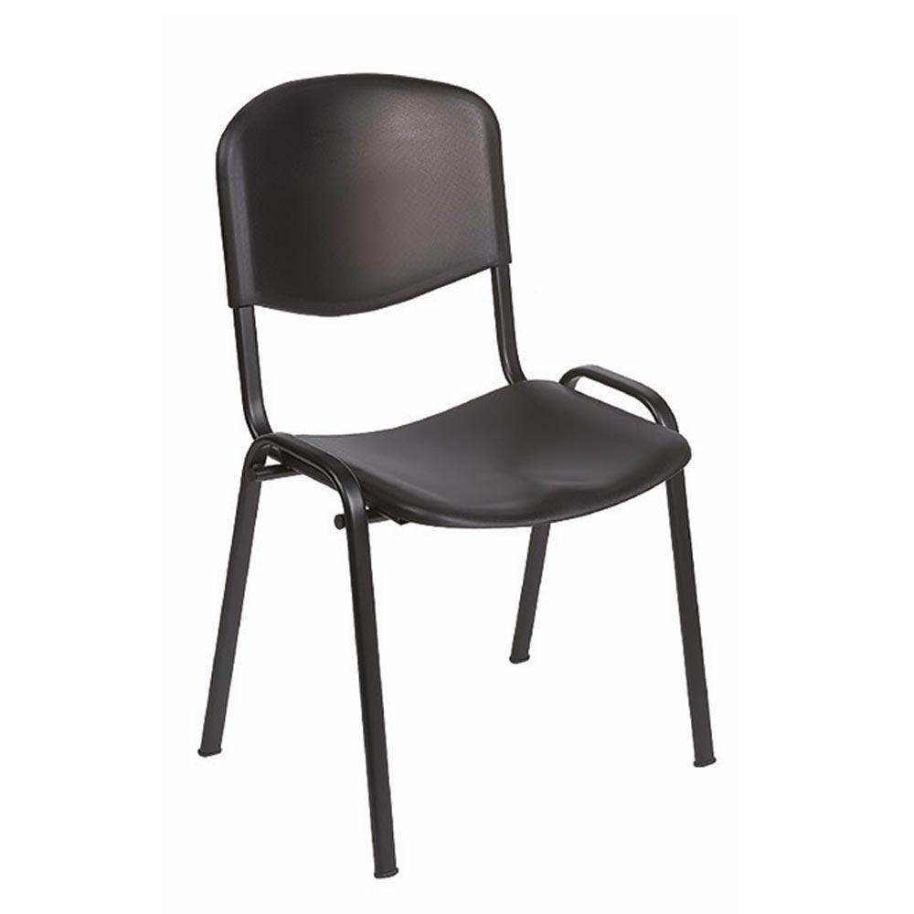Sunflower Venus Visitor Chairs No Arms - Black