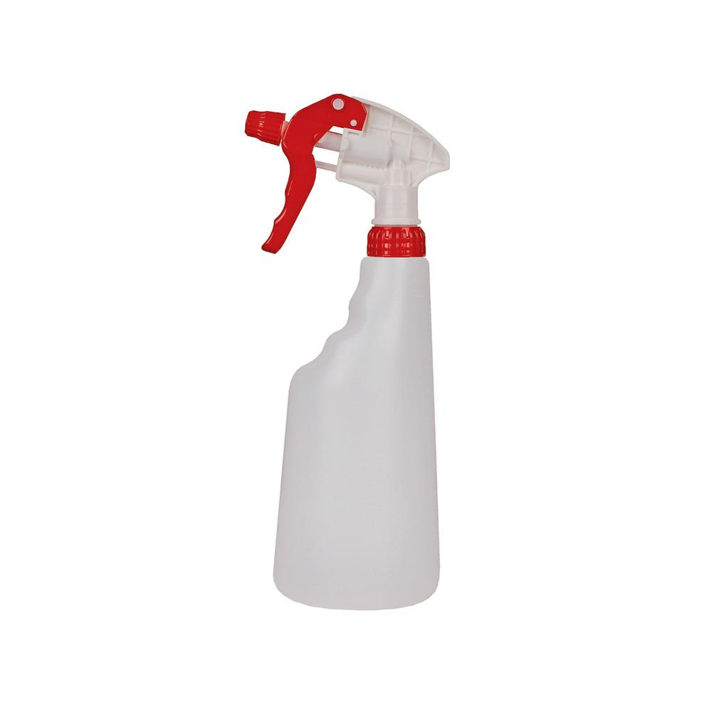 Empty Bottle with Trigger Sprayer - Red