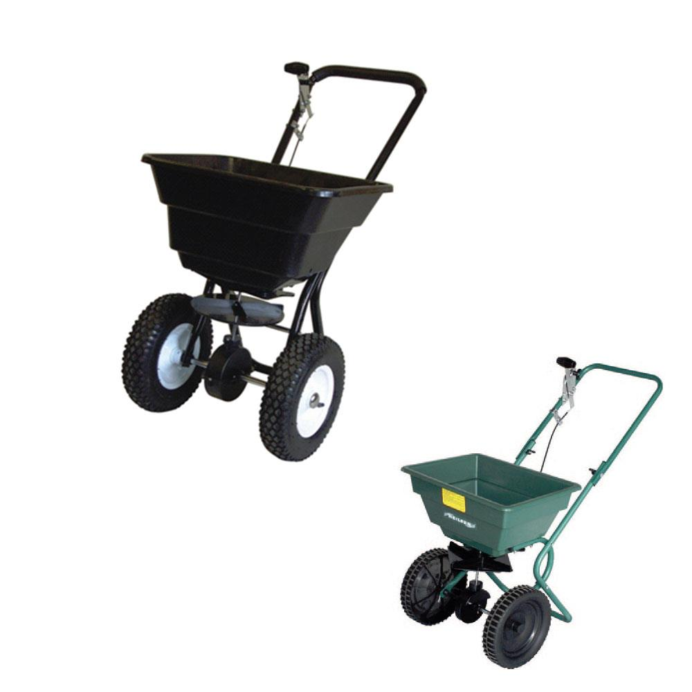 Heavy Duty Grit Spreader 80lb (36kg) Spreader (Black)