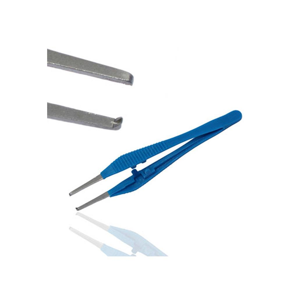 Instramed Iris Toothed Forceps - 10.5cm