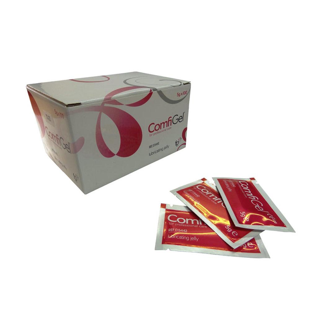ComfiGel Lubricating Jelly 5g Sachets x 100