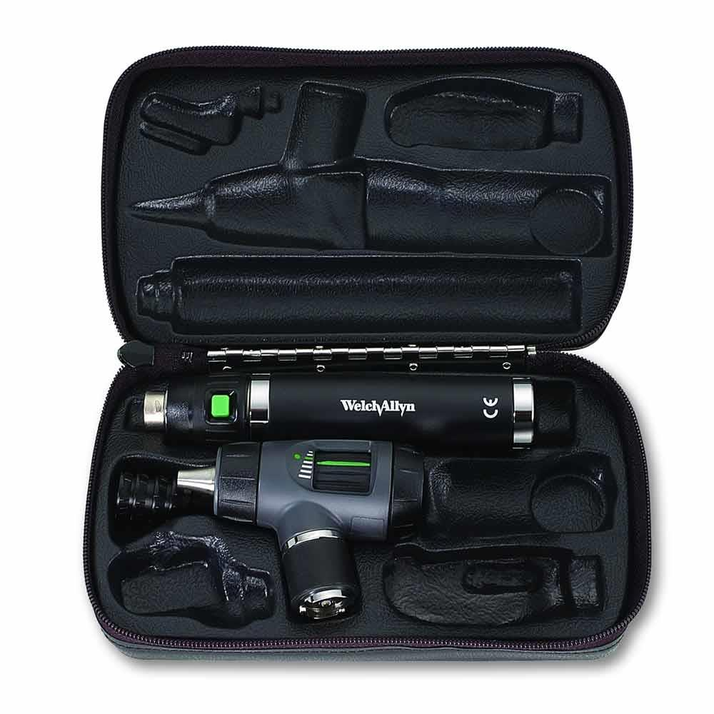 Welch Allyn Makroview Prestige Otoscope set with desk charger