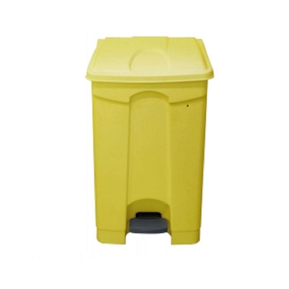 Clinical Waste Pedal Bins - 90 Litres Yellow