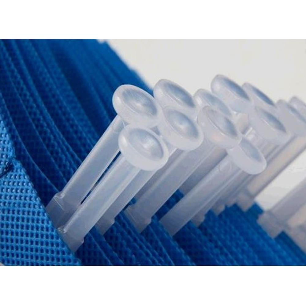 Easy Fit (E Fit) Disposable Curtains Fantex Protected Curtains - 7.5m x 2m - Medical Blue
